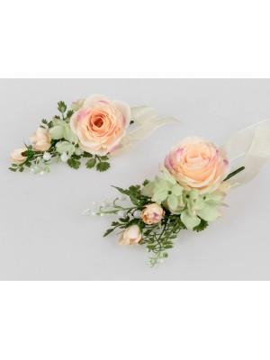Formano Tischdeko Rose lachs