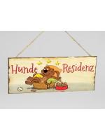 Schild Metall Hunde-Residenz