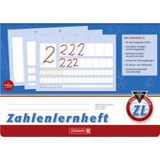 Brunnen Zahlenlernheft ZL A4 quer