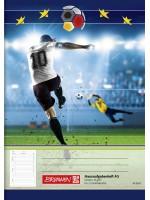 Brunnen Hausaufgabenheft Fußball