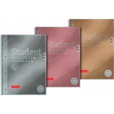 Brunnen Collegeblock Metallic