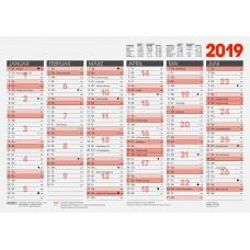 Brunnen Tafelkalender A3 10-701 30