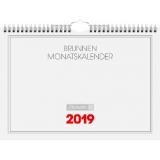 Brunnen Monatskalender 1 Seite = 1 Monat 10-701 46