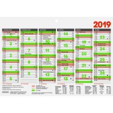 Brunnen Tafelkalender A5 10-701 50