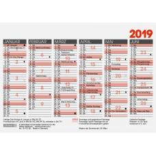 Brunnen Tafelkalender A6 10-701 60