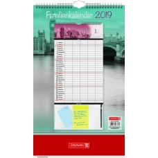 Brunnen Familienkalender Big City 10-702 85