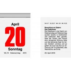 Brunnen Tages-Abreißkalender 40 x 58 mm 10-703 01