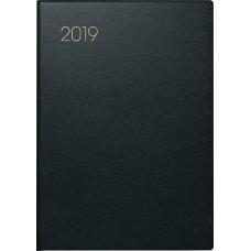 Brunnen Taschenkalender Lederfaserstoff-Einband schwarz 10-713 77 90