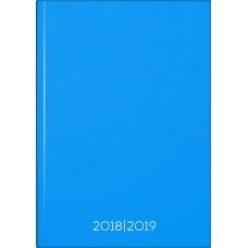 Brunnen Schülerkalender Platin Blue A5 Hardcover-Einband wattiert 1 Seite 1 Tag