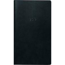 Brunnen Taschenkalender Kunststoff-Einband schwarz 10-753 28 90