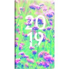 Brunnen Taschenkalender Grafik-Einband Flowers 10-756 15 01