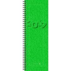 Brunnen Tischkalender Vormerkbuch Modell 782 Karton-Umschlag grün 10-782 01 50