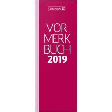 Brunnen Vormerkbuch Modell 785 Deckenband rot 10-785 02 20