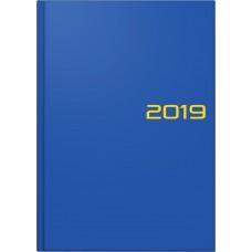 Brunnen Buchkalender Balacron-Einband blau 10-795 61 03