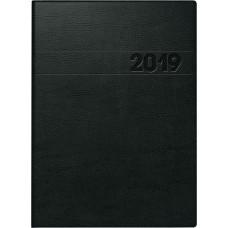 Brunnen Buchkalender Schaumfolien-Einband, innen Hartfolie schwarz 10-796 11 90