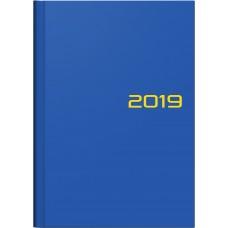 Brunnen Buchkalender Balacron-Einband blau 10-796 61 03