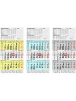 Brunnen 3-Monatskalender 10-702 10 95