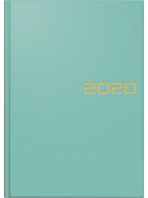 Brunnen Buchkalender Balacron-Einband türkis 10-795 61 02