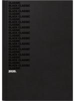 Brunnen Buchkalender Balacron-Einband bedruckt schwarz 10-795 63 06