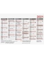 Brunnen Tafelkalender A6 10-701 600 01