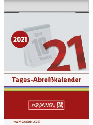 Brunnen Tages-Abreißkalender Nr.1 40 x 58 mm 10-703 010 01