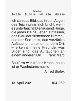 Brunnen Tages-Abreißkalender Nr. 3  54 x 80 mm 10-703 030 01