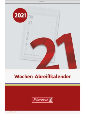 Brunnen Wochen-Abreißkalender Nr. 27 14 x 21 cm 10-703 270 01