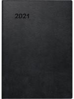 Brunnen Taschenkalender Kunststoff-Einband schwarz 10-734 11 901