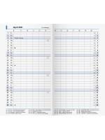 Brunnen Monats-Ersatzkalendarium Modell 750 10-750 00 001
