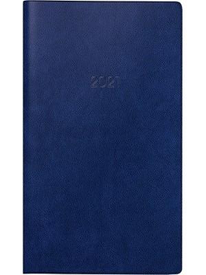 Brunnen Taschenkalender Kunststoff-Einband blau 10-750 28 301