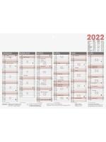 Brunnen Tafelkalender A4 kräftiger Karton 10-701 400 02