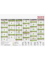 Brunnen Tafelkalender A5 10-701 500 02