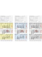Brunnen 3-Monatskalender 10-702 10 952