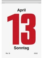 Brunnen Tages-Abreißkalender Nr. 4 65 x 98 mm 10-703 04 002