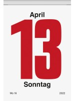 Brunnen Tages-Abreißkalender Nr. 5 81 x 106 mm 10-703 05 002