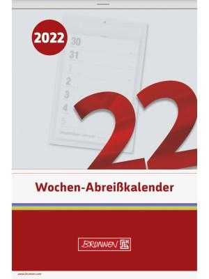 Brunnen Wochen-Abreißkalender Nr. 27 14 x 21 cm 10-703 270 02