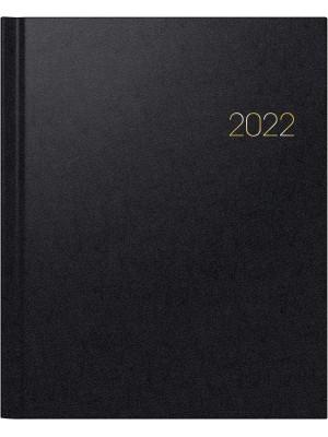 Brunnen Buchkalender Modell Manager Wt 7 - weektimer Balacron-Einband schwarz 10-761 60 902
