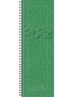 Brunnen Tischkalender Vormerkbuch Modell 782 Karton-Umschlag grün 10-782 01 502