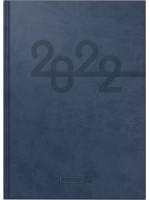 Brunnen Buchkalender Kunstleder-Einband Arabesque blau 10-798 33 902