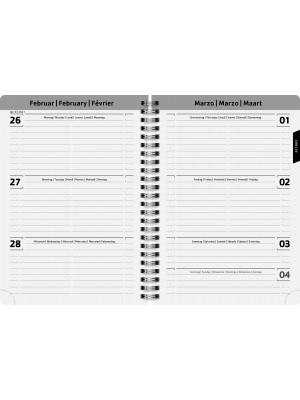 Brunnen Schülerkalender 2020/2021 Schmetterling A5 PP-Einband 18 Monate