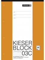 Brunnen KIESER-Block A4  Lineatur 03C