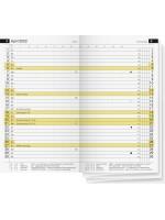 rido/idé Monats-Ersatzkalendarium Modell Miniplaner d 15 70-45 600 002