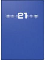 rido/idé Taschenkalender Modell perfect/Technik I Kunststoff-Einband blau 70-13 202 051