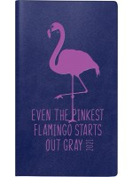 rido/idé Taschenkalender Kunstleder-Einband Trend Flamingo 70-16 915 011