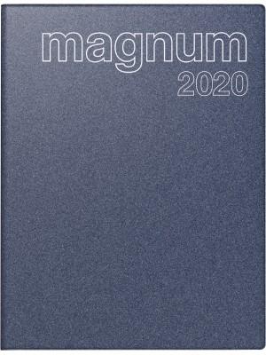 rido/idé Buchkalender Modell magnum Kunststoff-Einband Reflection blau 70-27 083 30