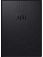 rido/idé Buchkalender Modell ROMA 1 Balacron-Einband schwarz 70-28 903 90