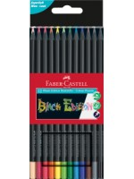 Faber-Castell Black Edition Buntstifte 12er Kartonetui