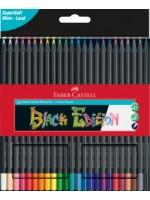 Faber-Castell Black Edition Buntstifte 24er Kartonetui