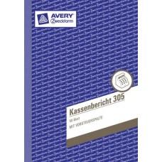 Avery Zweckform Kassenbericht 305