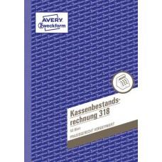 Avery Zweckform Kassenbestandsrechnung 318